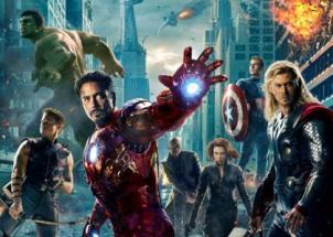 Avengers v bojové póze